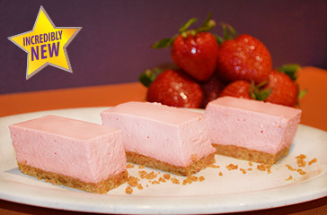 Seasonal Strawberry Cheesecake